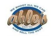 Able's Hunting Supply Coupon Codes March 2019