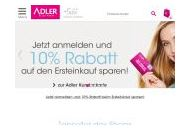 Adlermode Coupon Codes December 2018