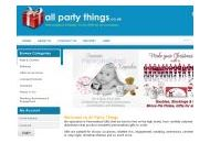 Allpartythings Uk Coupon Codes October 2018