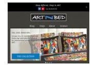 Artnbed Coupon Codes January 2021