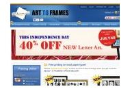 Arttoframe Coupon Codes March 2019