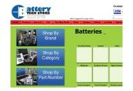 Batterytechstore Coupon Codes January 2019