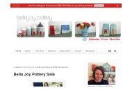Bellajoypottery Coupon Codes September 2020
