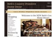 Bethscountryprimitivehomedecor Coupon Codes January 2020