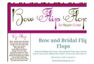 Bowflipflops Coupon Codes August 2018