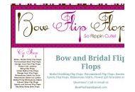 Bowflipflops Coupon Codes May 2018