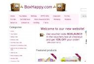 Boxhappy Coupon Codes March 2021