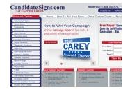 Candidatesigns Coupon Codes July 2020