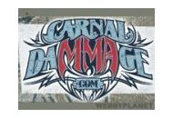 Carnal Dammage Coupon Codes June 2019