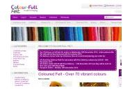 Colour-full-felt Uk Coupon Codes January 2019