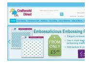 Craftworlddirect Coupon Codes January 2019