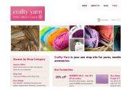 Crafty-yarn Uk Coupon Codes March 2021