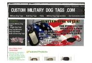 Custommilitarydogtags Coupon Codes July 2020