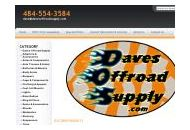 Davesoffroadsupply Coupon Codes February 2019