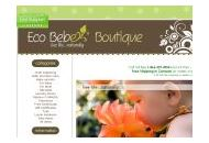 Ecobebeboutique Coupon Codes January 2019