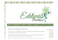 Edelweissbowtique Coupon Codes January 2019