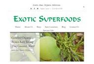 Exoticsuperfoods Coupon Codes March 2019