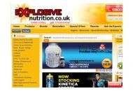 Explosive Nutrition Coupon Codes March 2021