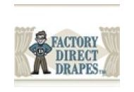 Factory Direct Drapes Coupon Codes August 2018