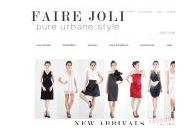Fairejoli Coupon Codes March 2019