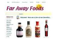 Far Away Foods Coupon Codes December 2017
