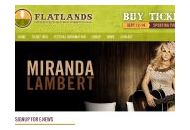 Flatlandsfestival Coupon Codes July 2018