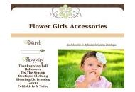 Flowergirlsaccessories Coupon Codes July 2018