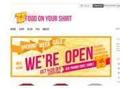 Foodonyourshirt Coupon Codes March 2019