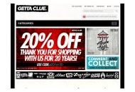Gettacluestore Coupon Codes January 2020