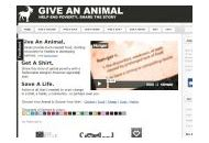 Giveananimal Coupon Codes March 2021