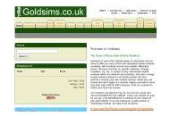 Goldsims Uk Coupon Codes April 2021