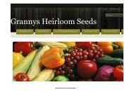 Grannysheirloomseeds Coupon Codes September 2018