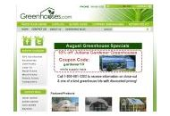 Greenhouses Coupon Codes September 2020