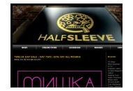 Halfsleeve Coupon Codes September 2018