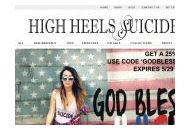 Highheelssuicide Coupon Codes December 2018