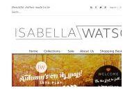 Isabellawatson Uk Coupon Codes July 2020