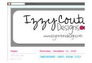 Izzycouturedesigns Coupon Codes September 2019