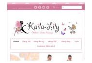 Kailalily Coupon Codes October 2018