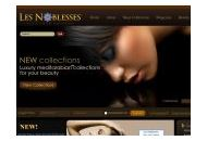 Lesnoblesses Coupon Codes October 2018