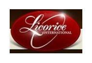 Licorice International Coupon Codes July 2018