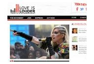 Loveislouder Coupon Codes June 2018