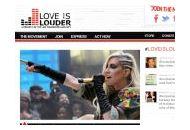 Loveislouder Coupon Codes September 2018