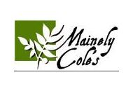 Mainely Cole's Coupon Codes August 2019