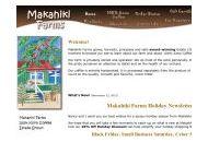Makahikifarms Coupon Codes January 2021