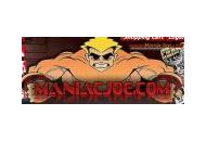 Maniacjoe Coupon Codes March 2018