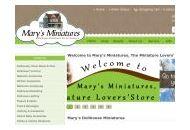 Marysminiatures Coupon Codes June 2018