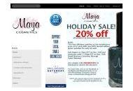 Maya-cosmetics Coupon Codes August 2020