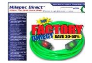 Milspec-direct Coupon Codes October 2021