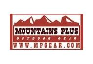 Mountains Plus Coupon Codes February 2018
