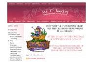 Ms. T's Bakery Coupon Codes December 2017